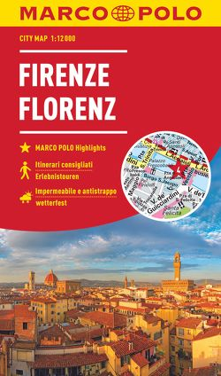 MARCO POLO Cityplan Florenz