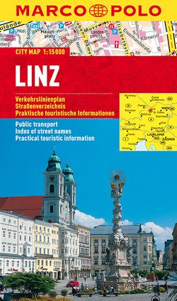 MARCO POLO Cityplan Linz 1:15 000