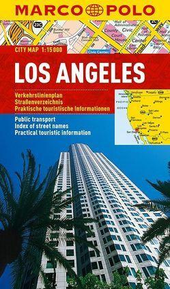 MARCO POLO Cityplan Los Angeles 1:15 000