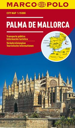 MARCO POLO Cityplan Palma 1:15 000