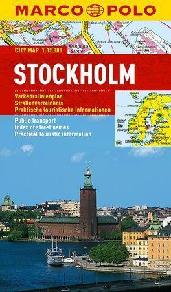 MARCO POLO Cityplan Stockholm 1:15 000