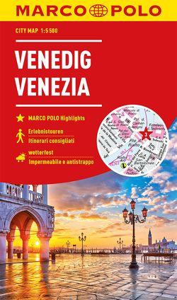 MARCO POLO Cityplan Venedig 1:5 500