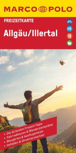 MARCO POLO Freizeitkarte Allgäu, Illertal