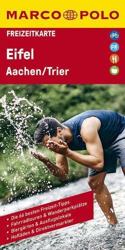 MARCO POLO Freizeitkarte Eifel, Aachen, Trier 1:120 000