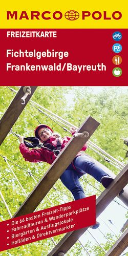 MARCO POLO Freizeitkarte Fichtelgebirge, Frankenwald, Bayreuth