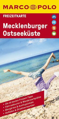 MARCO POLO Freizeitkarte Mecklenburgische Seen 1:100 000