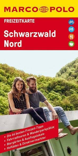 MARCO POLO Freizeitkarte Schwarzwald Nord