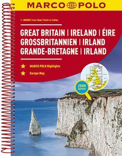 MARCO POLO Reiseatlas Großbritannien, Irland 300T