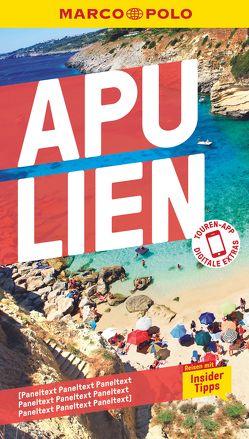 MARCO POLO Reiseführer Apulien von Dürr,  Bettina