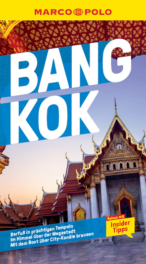MARCO POLO Reiseführer Bangkok von Hahn,  Wilfried, Miethig,  Martina