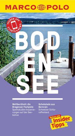 MARCO POLO Reiseführer Bodensee von Keller-Ulrich,  Martina, van Bebber,  Frank, Wachsmann,  Florian