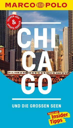 MARCO POLO Reiseführer Chicago und die großen Seen von Jeier,  Thomas