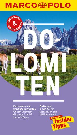 MARCO POLO Reiseführer Dolomiten von Stimpfl,  Oswald