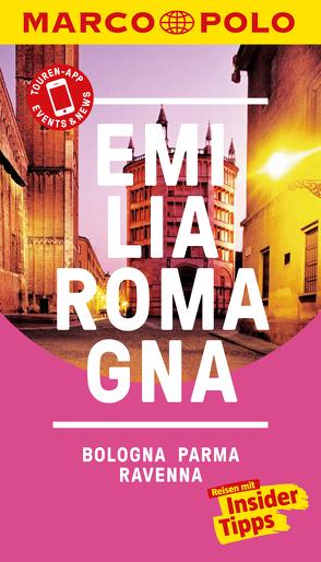 MARCO POLO Reiseführer Emilia-Romagna, Bologna, Parma, Ravenna von Dürr,  Bettina