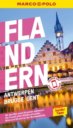 MARCO POLO Reiseführer Flandern, Antwerpen, Brügge, Gent von Bettinger,  Sven Claude, Hauser,  Françoise