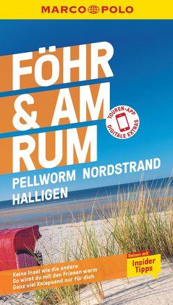 MARCO POLO Reiseführer Föhr, Amrum, Pellworm, Nordstrand, Halligen von Schuppius,  Arnd M.