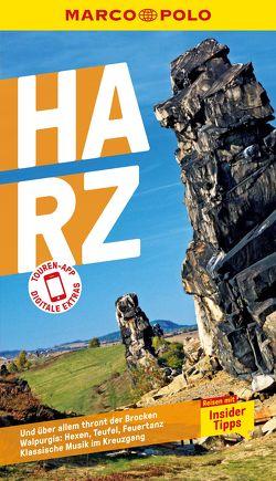 MARCO POLO Reiseführer Harz von Bausenhardt,  Hans, Kirmse,  Ralf