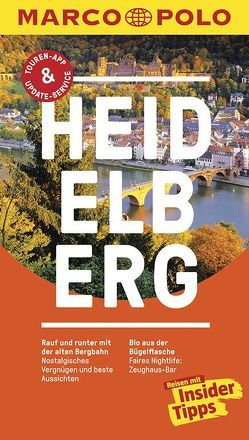 MARCO POLO Reiseführer Heidelberg von Bootsma,  Christl, Pieske,  Melanie