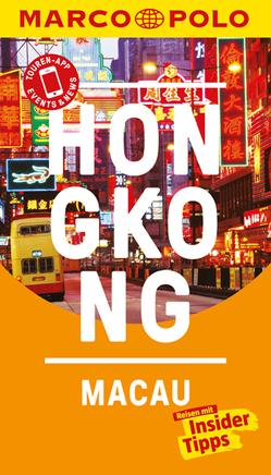 MARCO POLO Reiseführer Hongkong, Macau von Schütte,  Hans-Wilm
