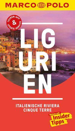 MARCO POLO Reiseführer Ligurien, Italienische Riviera, Cinque Terre von Dürr,  Bettina