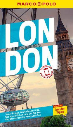 MARCO POLO Reiseführer London von Becker,  Kathleen, Weber,  Birgit
