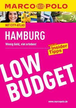 MARCO POLO Reiseführer Low Budget Hamburg von Heintze,  Dorothea, Wienefeld,  Katrin