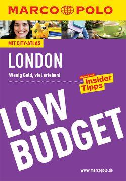MARCO POLO Reiseführer Low Budget London von Becker,  Kathleen, Pohl,  Michael