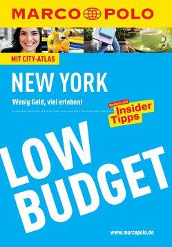 MARCO POLO Reiseführer Low Budget New York von Steinrueck,  Alrun