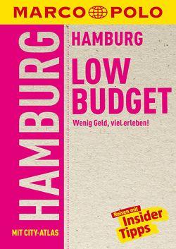 MARCO POLO Reiseführer LowBudget Hamburg von Heintze,  Dorothea, Wienefeld,  Katrin, Wilberg,  Dirk