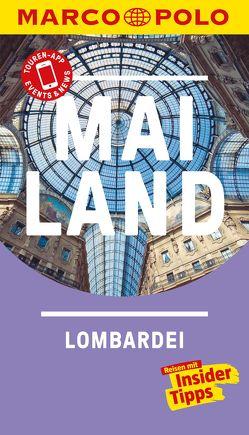 MARCO POLO Reiseführer Mailand, Lombardei von Dürr,  Bettina, Klüver,  Henning
