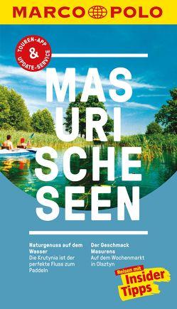 MARCO POLO Reiseführer Masurische Seen von Lesser,  Gabriele, Plath,  Thoralf