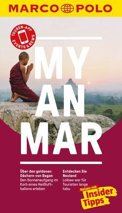 MARCO POLO Reiseführer Myanmar von Markand,  Andrea, Markand,  Markus