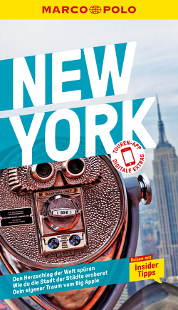MARCO POLO Reiseführer New York von Horsten,  Christina, Zeltner,  Felix