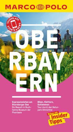 MARCO POLO Reiseführer Oberbayern von Koophamel,  Anne Kathrin, Schetar,  Daniela