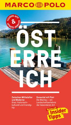 MARCO POLO Reiseführer Österreich von Ericson,  Anita, Hetz,  Siegfried
