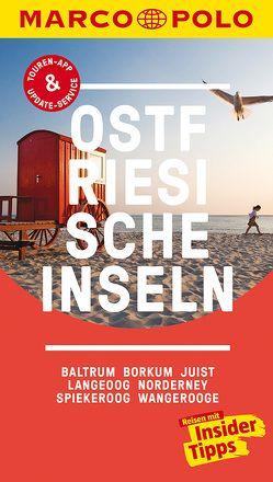 MARCO POLO Reiseführer Ostfriesische Inseln, Baltrum, Borkum, Juist, Langeoog von Bötig,  Klaus, Kühn,  Volker