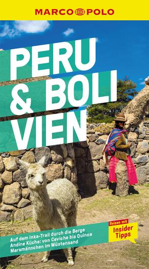 MARCO POLO Reiseführer Peru & Bolivien von Froese,  Gesine, Tempelmann,  Eva