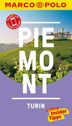 MARCO POLO Reiseführer Piemont, Turin von Rübesamen,  Annette
