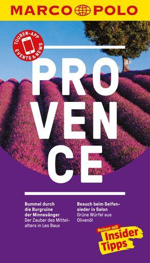 MARCO POLO Reiseführer Provence von Bausch,  Peter, Schmidt,  Dorothea