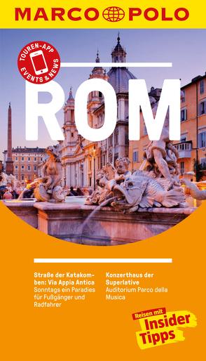 MARCO POLO Reiseführer Rom von Strieder,  Swantje