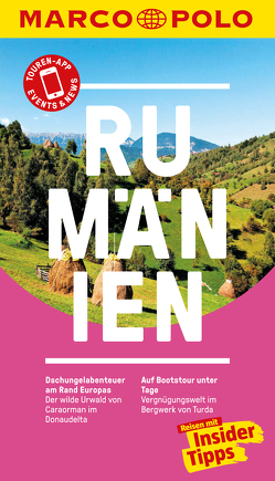 MARCO POLO Reiseführer Rumänien von Kern,  Nils, Lauer,  Kathrin