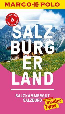 MARCO POLO Reiseführer Salzburger Land von Hetz,  Siegfried, Paumgartner,  Gabriela
