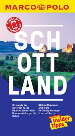MARCO POLO Reiseführer Schottland von Müller,  Martin