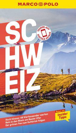 MARCO POLO Reiseführer Schweiz von Engelhardt,  Marc