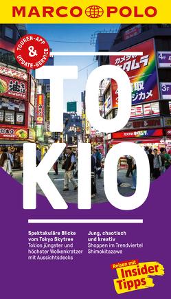 MARCO POLO Reiseführer Tokio von Blaschke,  Sonja, Hilja,  Müller, Krauth,  Hans-Günther