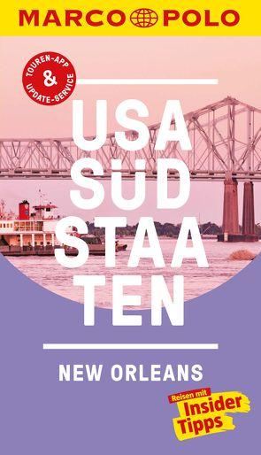 MARCO POLO Reiseführer USA Südstaaten, New Orleans von Helmhausen,  Ole