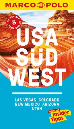 MARCO POLO Reiseführer USA Südwest, Las Vegas, Colorado, New Mexico, Arizona von Teuschl,  Karl