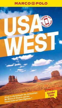MARCO POLO Reiseführer USA West von Teuschl,  Karl