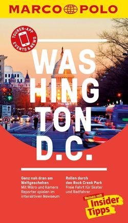 MARCO POLO Reiseführer Washington D.C von Lanzendörfer,  Nancy, Stamer,  Sabine