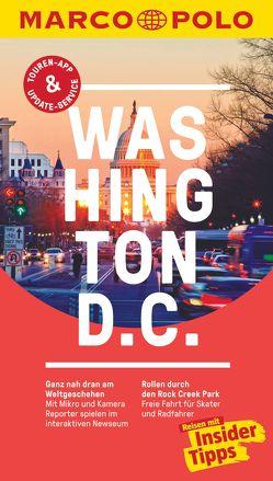 MARCO POLO Reiseführer Washington D.C. von Lanzendörfer,  Nancy, Stamer,  Sabine